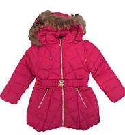 Пуховки детский девочка на зиму