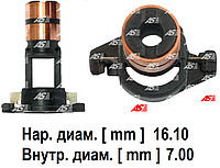 Токосьемные кольца генератора Ford Transit 2.4 TD - 2.4 TDi (02-06). Коллектор на Форд Транзит