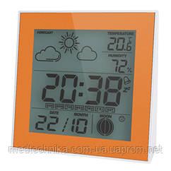 Термометр-гигрометр цифровой, часы, память, T-06