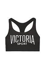 Черный спортивный топ Victoria's Secret
