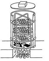 Как сделать коптильню из металлической бочки?