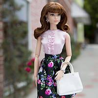 Барби Кукла коллекционная Стильная Брюнетка Sweet Tea DGY11/ The Barbie Look Barbie Doll Collector