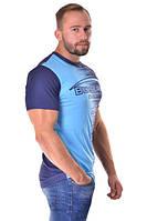 Мужская футболка из полиэстера Berserk Sport синий