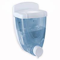 Дозатор для жидкого мыла 380мл пластиковый 9*9*16.5см Besser 8303