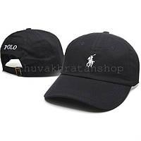 Черная кепка бейсболка Polo Ralph Lauren