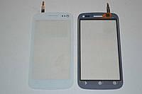 Оригинальный тачскрин / сенсор (сенсорное стекло) для Fly IQ450 Quattro Horizon 2 (белый цвет) + СКОТЧ