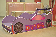 Кровать машина Форсаж Лили 1740 /936 (матрас 1700 мм.)+Кромка Т-резиновая, фото 1