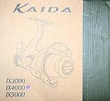 Катушка Кайда Golden, IX4000, с бейтраннером, 9+1 подш., фото 3