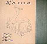 Катушка Kaida Golden, IX5000, бейтраннером, 9+1 подш., фото 3