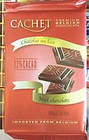 Бельгийский молочный шоколад 32% Cachet / Кашэт Бельгия 300 грамм, фото 1