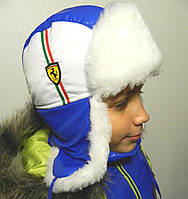 Зимняя шапка для мальчика