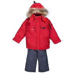 Зимний комбинезон для мальчика с съемной жилеткой