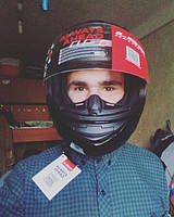 Победитель нашего конкурса с новеньким шлемом LS2 FF352! Поздравляем Александра!