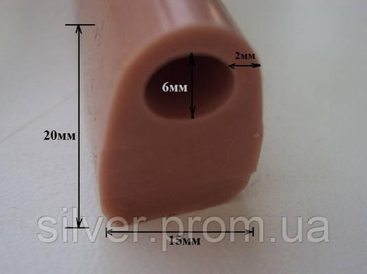Уплотнитель термостойкий 20х15мм