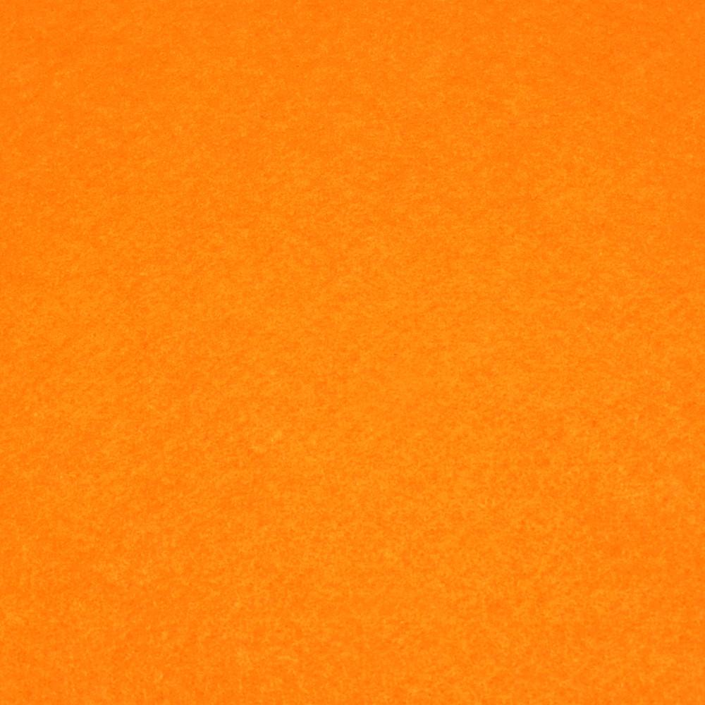 Фетр мягкий 1.2 мм, 42x33 см, ЯРКО-ОРАНЖЕВЫЙ