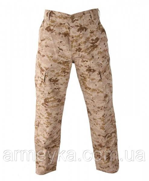 Боевые штаны USMC FROG - Marpat Desert. USA, оригинал