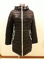 Куртка женская зимняя черная 1405