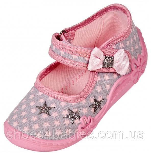 Текстильные туфли (тапочки) для девочки Viggami Aurelka Аурелка р. 27 - 16,7см