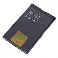 Аккумулятор (BL-5J) для Nokia  525 530 5800 N900 C3-00 X1-00 X1-01 X6-00 Качество