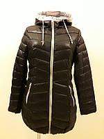 Куртка женская демисезонная черная