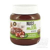 Шоколадно - молочная паста со вкусом ореха Nuss Milk 400гр.