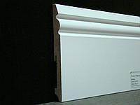 Плинтус МДФ Paint On FU150L белый 150x15x2400 мм