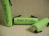 Bossman AA1300U NI-MH аккумулятор с выводами под пайку