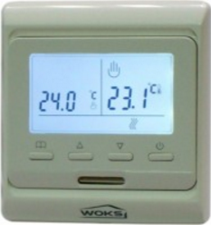 Терморегулятор для теплого пола Woks M–6.716 (программируемый)