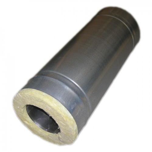 купить утепленную трубу для дымохода (сэндвич) из оцинкованной стали
