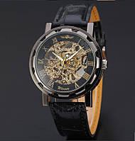 Механические наручные часы,часы-скелетоны, Winner Skeleton, м-008