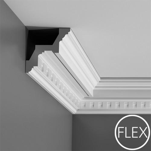 Лепнина Орак Декор C211F Карниз гибкий с орнаментом Orac Luxxus