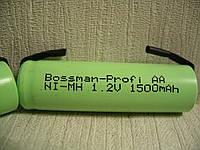 Bossman AA1500U NI-MH аккумулятор с выводами под пайку