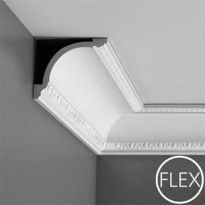 Лепнина Орак декор C216F Карниз гибкий Orac Luxxus