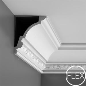 Лепнина Орак декор C301F Карниз гибкий Orac Luxxus
