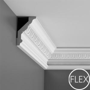 Лепнина Орак декор C302F Карниз гибкий Orac Luxxus