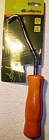 Крюк для вязки арматуры с подшипником, 210 мм, деревянная рукоятка СИБРТЕХ 84876