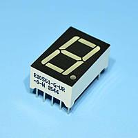 Индикатор светодиодный 1 разряд 14.2мм ОА, красный E10561-G-UR-0-W  Toyo