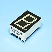 Индикатор светодиодный 1 разряд 14.2мм ОК, красный E10561-J-UR-0-W  Toyo