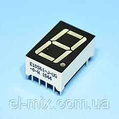 Индикатор светодиодный 1 разряд 14.2мм ОК, зеленый E10561-J-UG-0-W  Toyo