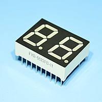 Индикатор светодиодный 2 разряда 14,2мм ОА, статика, красный FYD5622FD-11  Foryard