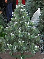 """Новогодняя Ёлка  """"Карпатская"""" (с белыми кончиками) 1,5м, фото 1"""