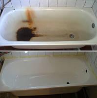Реставрация ржавой ванны