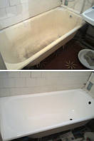 Реставрация грязной ванны