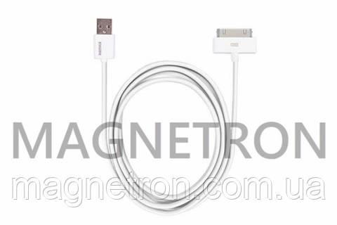 USB дата-кабель (30pin) для мобильных телефонов Apple iPhone 4 Remax