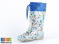 Гумові чоботи для дівчинки ALISA ромашка