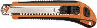 Нож монтерский с отломными сменными лезвиями TOPEX 17B168