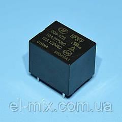 Реле   5V 1группа  HF3FF-005-1ZS (=JQC-3F-1C) (10А 240V) герметичное 5pin on-on  Hongfa