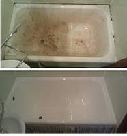 Реставрация сидячей ванны