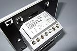 Терморегулятор для теплого пола Woks M 9.716 (программируемый, сенсорный), фото 3