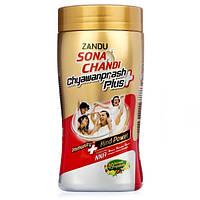 Чаванпраш Zandu Sona Chandi 450 гр